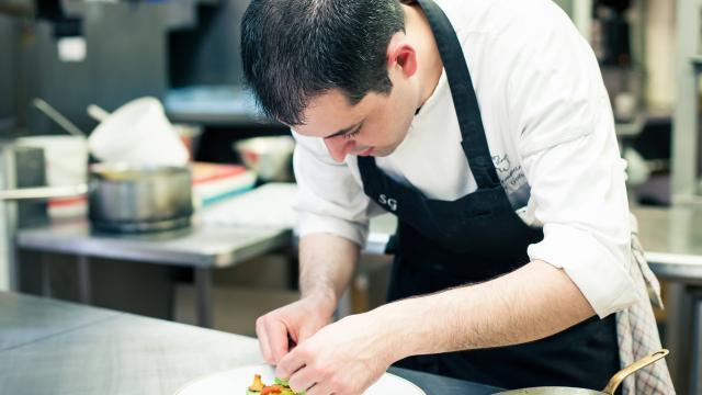 Chef restaurante